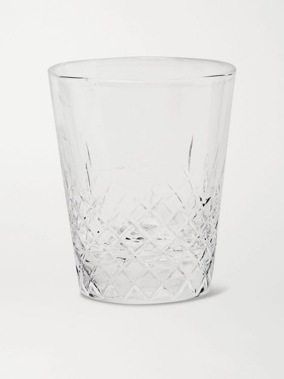 Roman & Williams Guild + Haruya Hiroshima Lace Cut Crystal Shot Glass