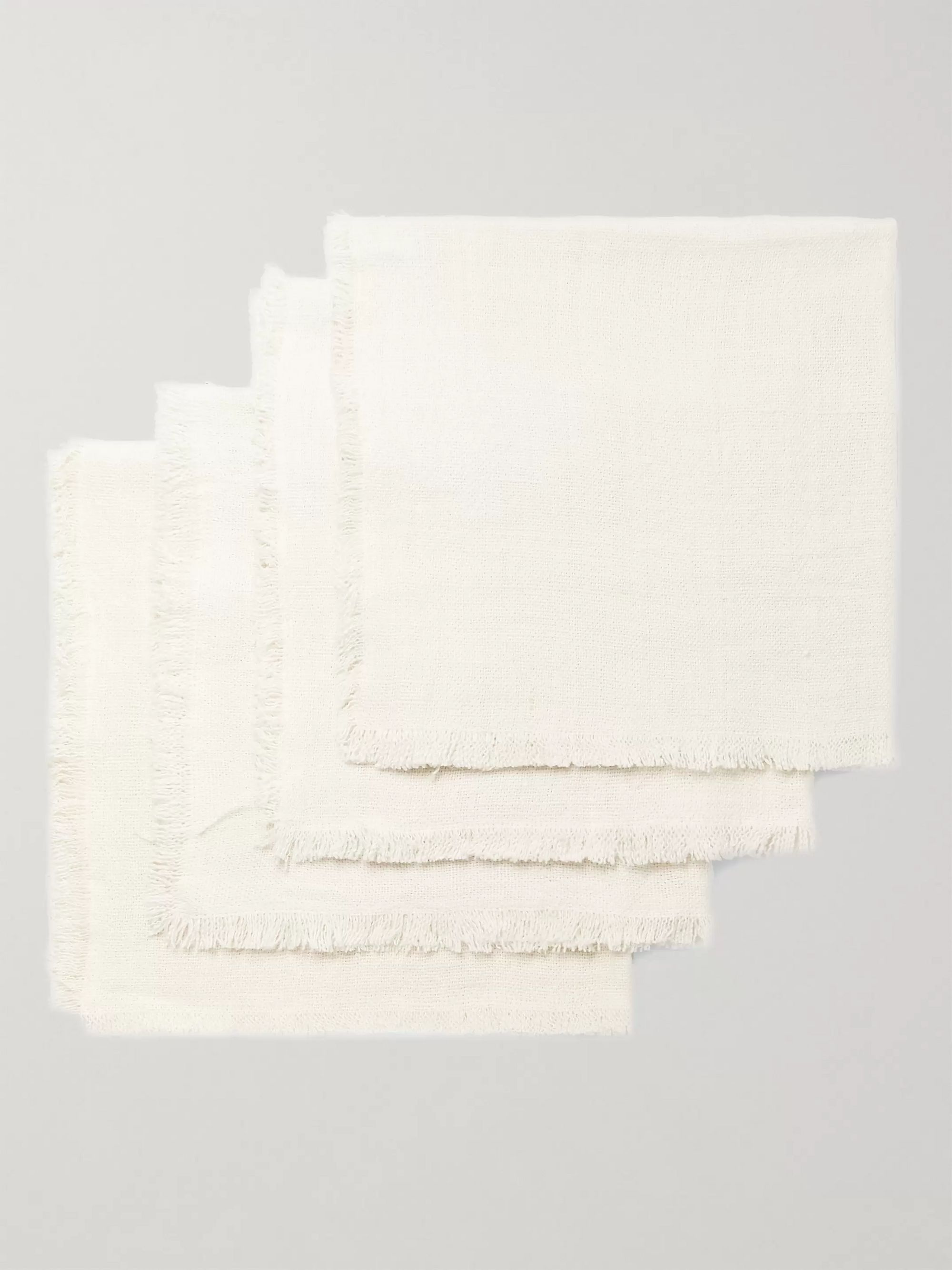 Roman & Williams Guild Set of Four Linen Napkins