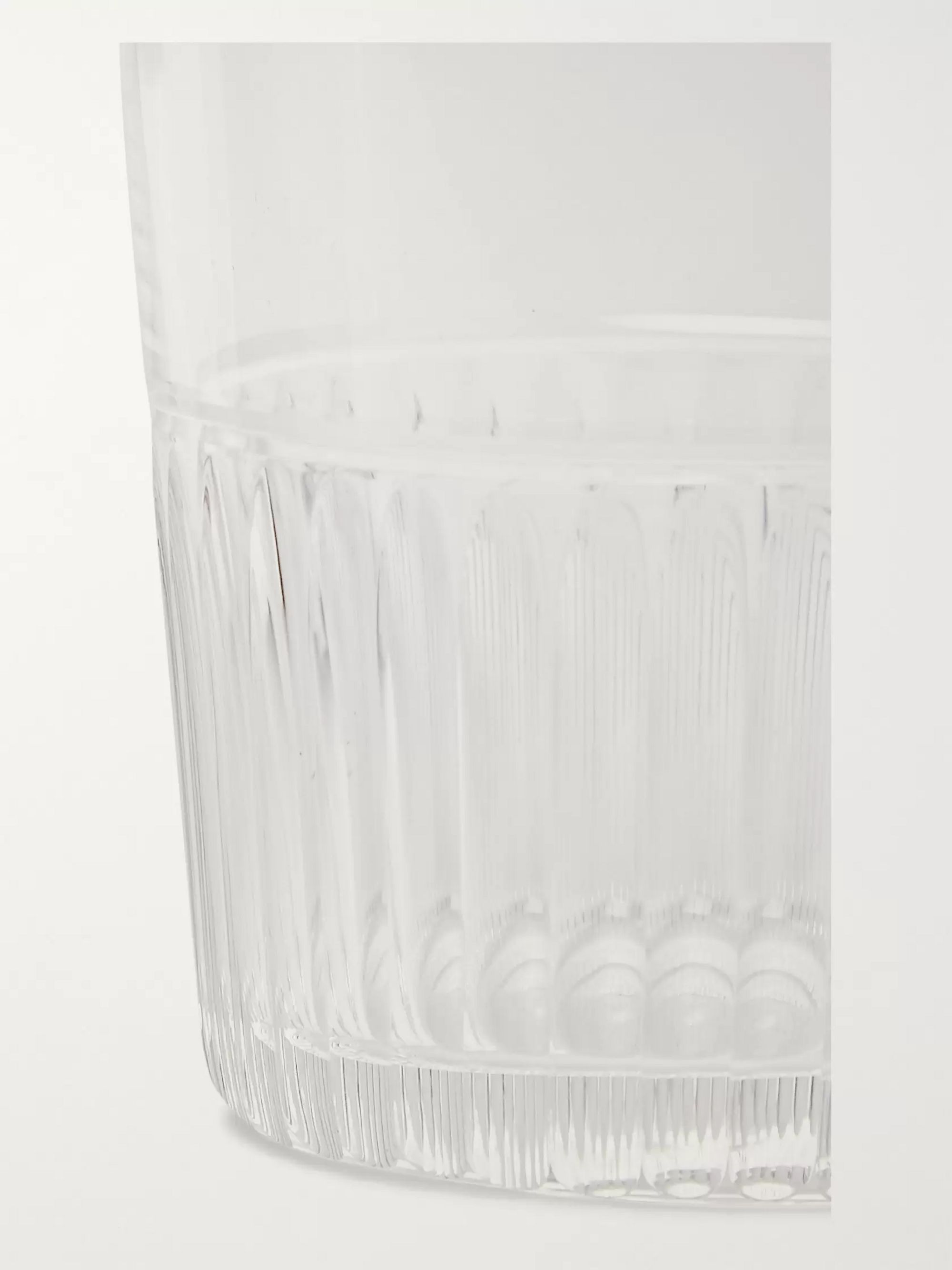 Roman & Williams Guild + Haruya Hiroshima Fluted Highball Glass