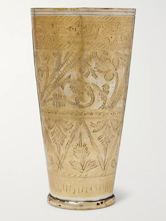Roman & Williams Guild Brass Lassi Vase