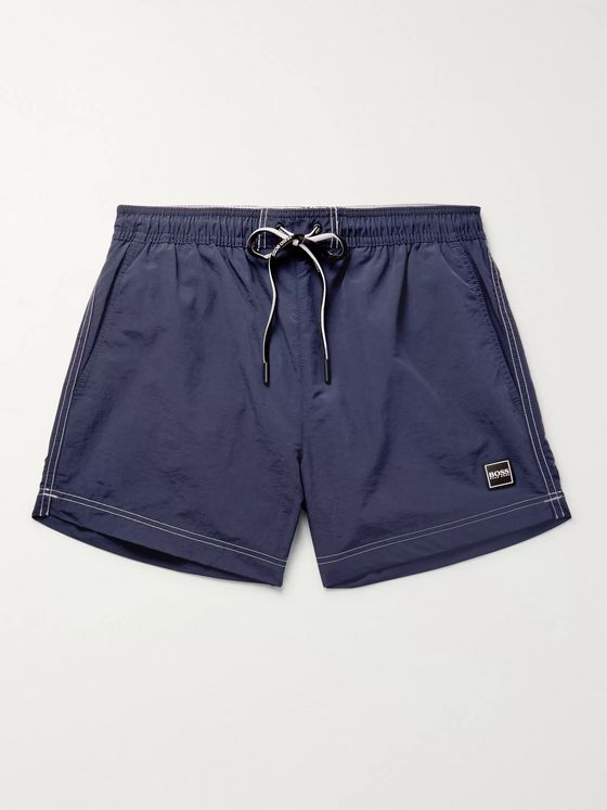 Hugo Boss Tuna Slim-Fit Mid-Length Swim Shorts