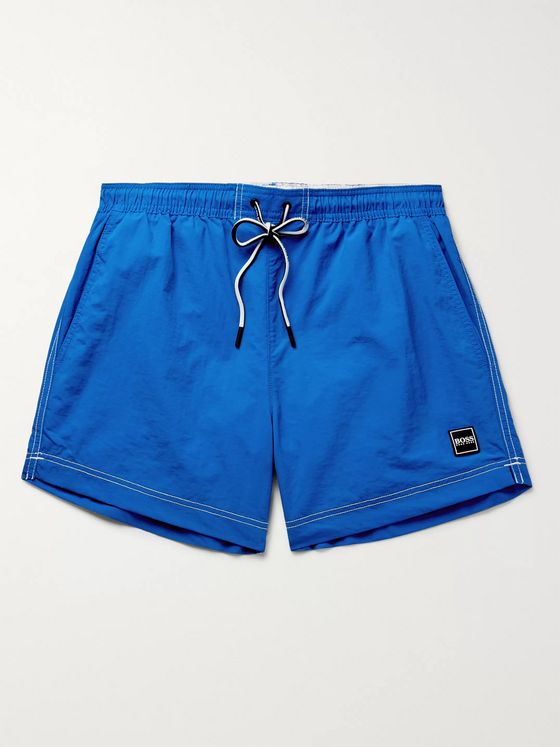 Hugo Boss Tuna Sportive Slim-Fit Short-Length Swim Shorts