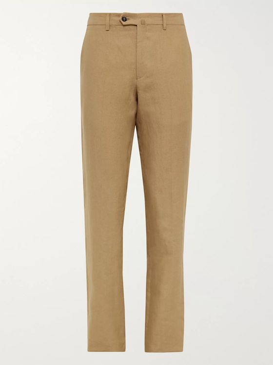 LORO PIANA Linen Trousers