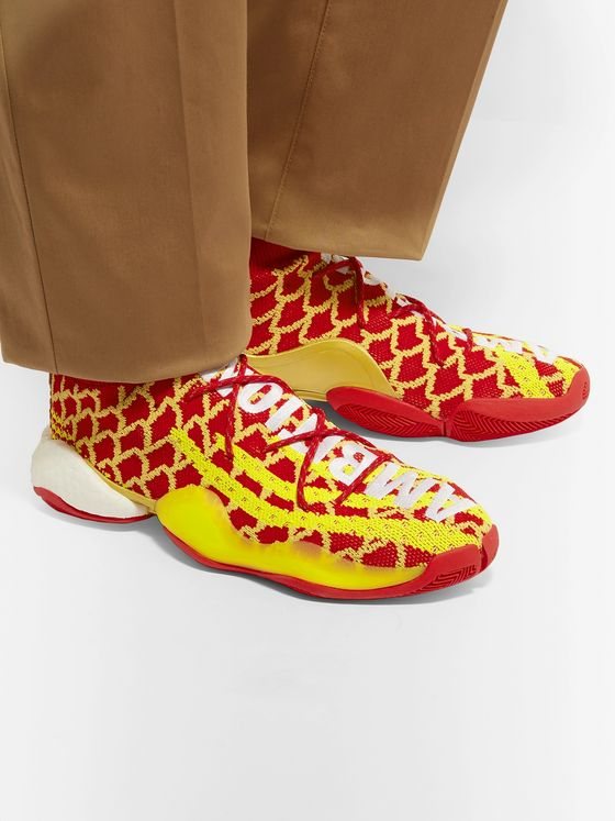 adidas Consortium + Pharrell Williams CNY Crazy BYW Primeknit Sneakers