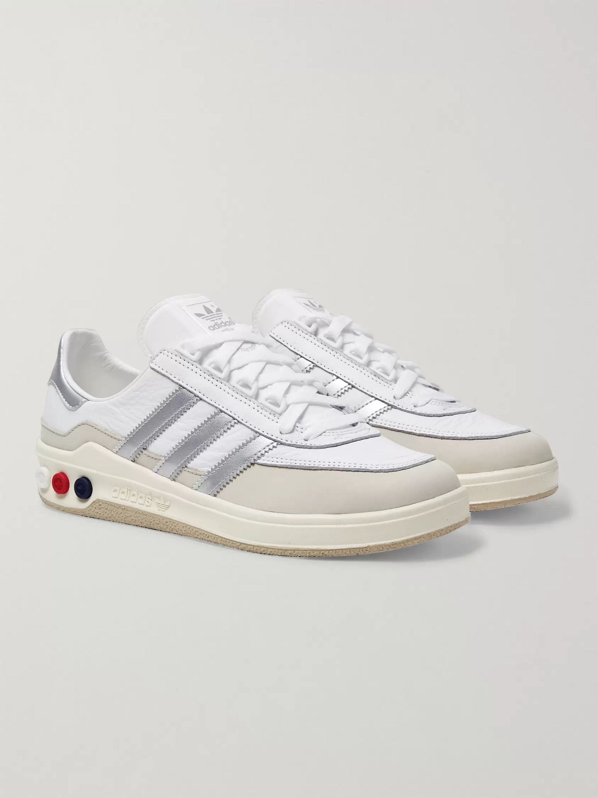 adidas Consortium GLXY SPZL Leather Sneakers