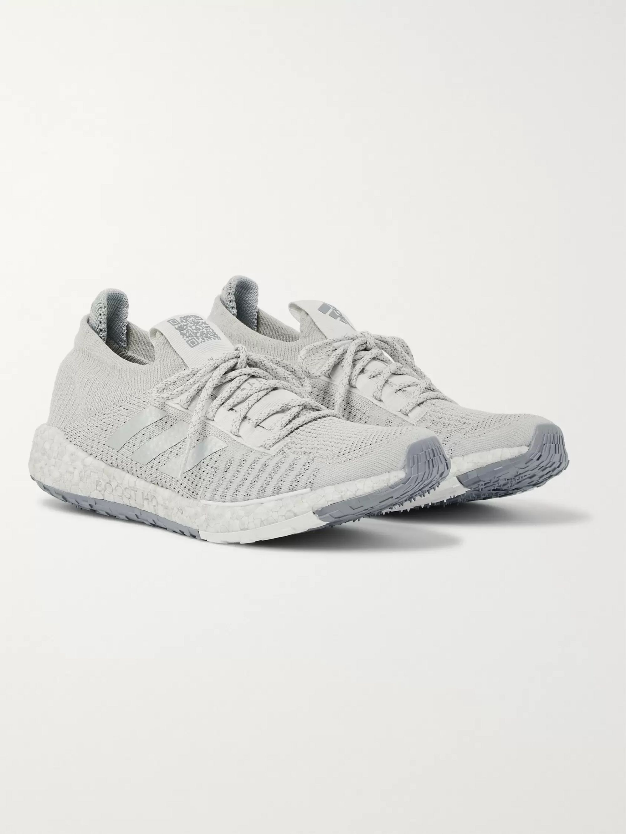 Adidas Sport PulseBOOST HD LTD Stretch-Knit Running Sneakers