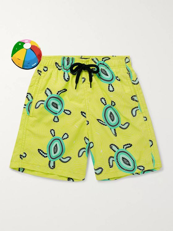 Vilebrequin Boys Ages 10 - 12 Jim Printed Swim Shorts