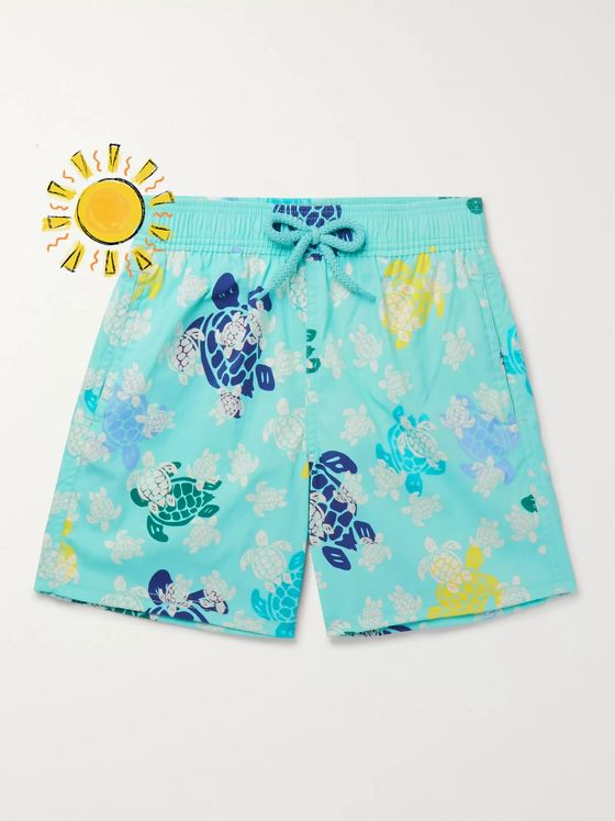Vilebrequin Boys Ages 2 - 8 Jim Glow-in-the-Dark Printed Swim Shorts