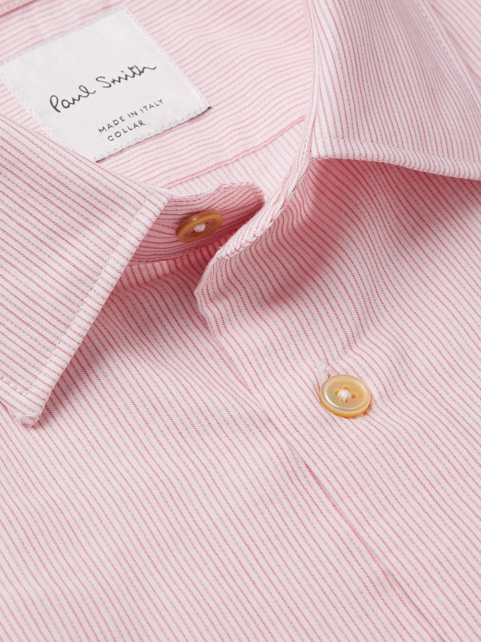 Paul Smith Soho Slim-Fit Striped Cotton Shirt