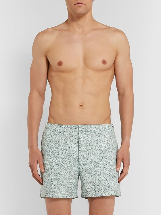Orlebar Brown Setter Mid-Length Printed Swim Shorts