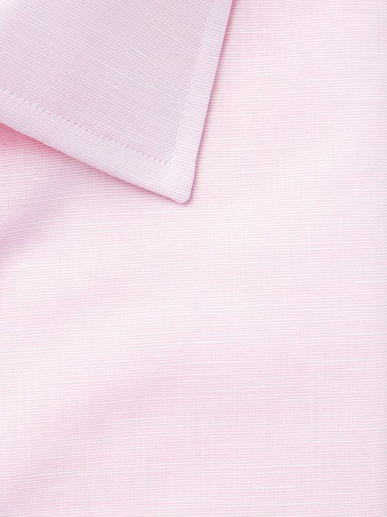 Emma Willis Pink Slim-Fit Cotton Shirt
