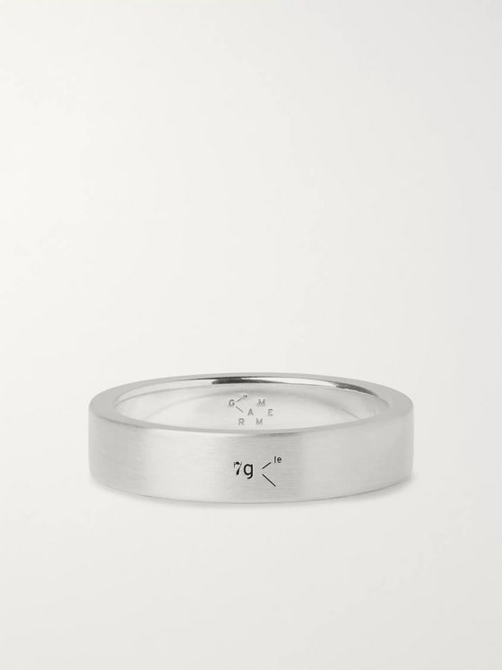 Le Gramme Le 7 Brushed Sterling Silver Ring