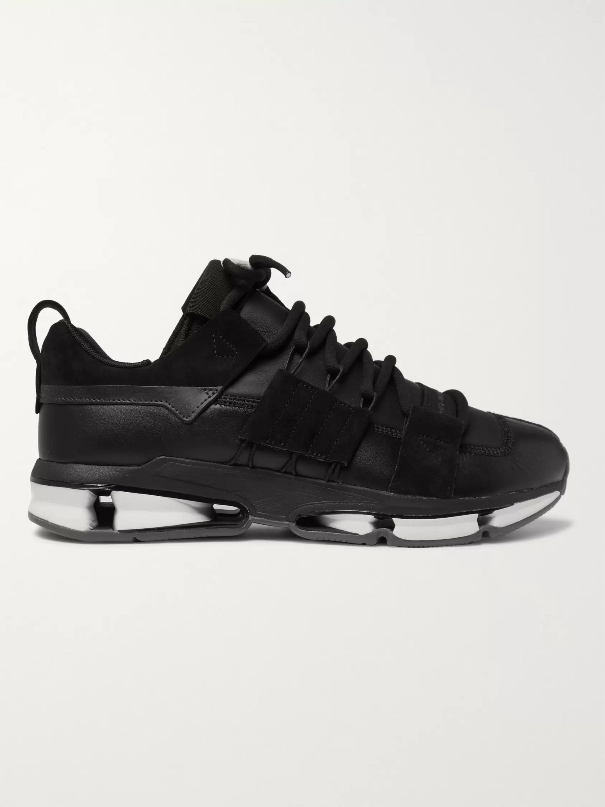adidas Originals Twinstrike ADV Leather and Suede Sneakers