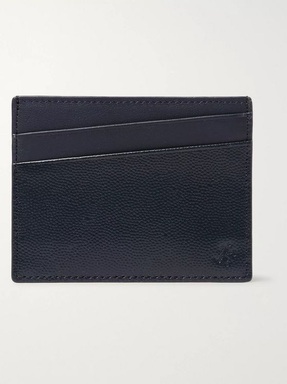 WANT LES ESSENTIELS Branson Pebble-Grain Leather Cardholder