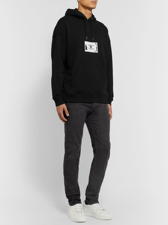 Givenchy Appliquéd Loopback Cotton-Jersey Hoodie