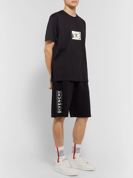 Givenchy Logo-Appliquéd Cotton-Jersey T-Shirt