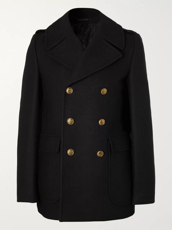 Givenchy Virgin Wool-Felt Peacoat