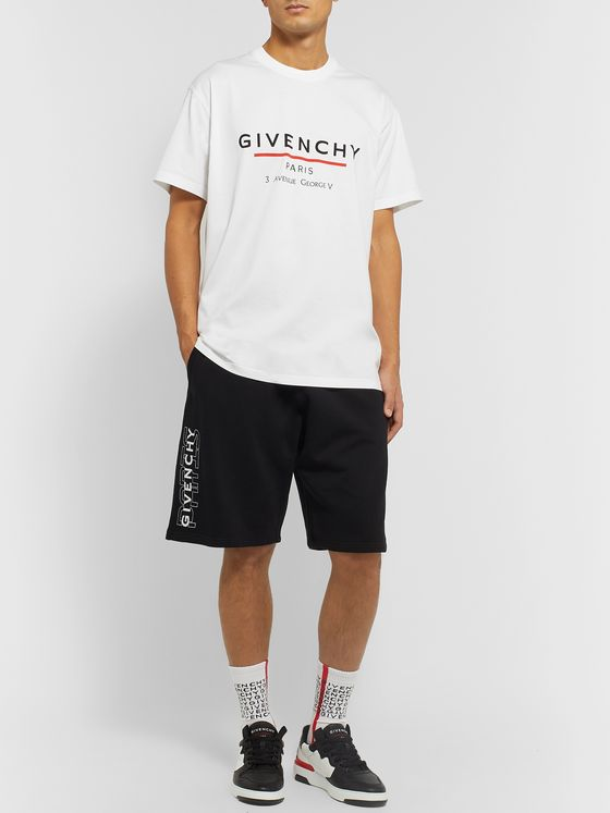 Givenchy Oversized Logo-Print Cotton-Jersey T-Shirt