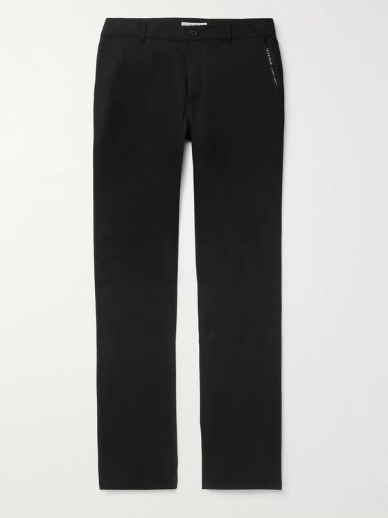 Givenchy Slim-Fit Stretch-Cotton Twill Trousers