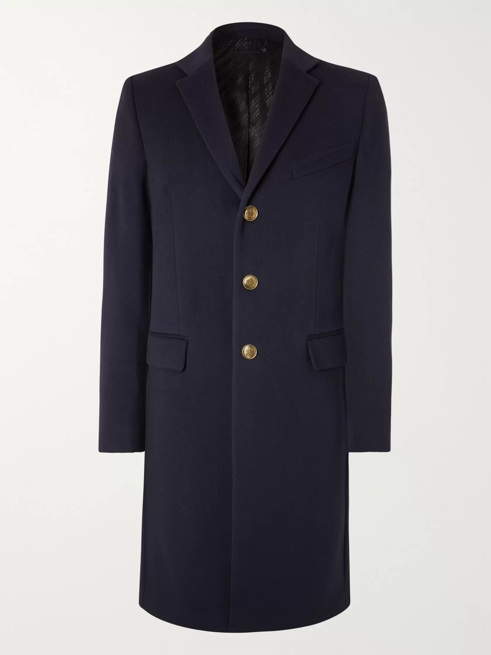 Givenchy Wool and Cashmere-Blend Overcoat