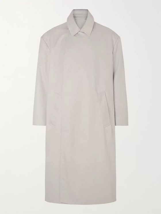 Balenciaga Cotton-Gabardine Trench Coat