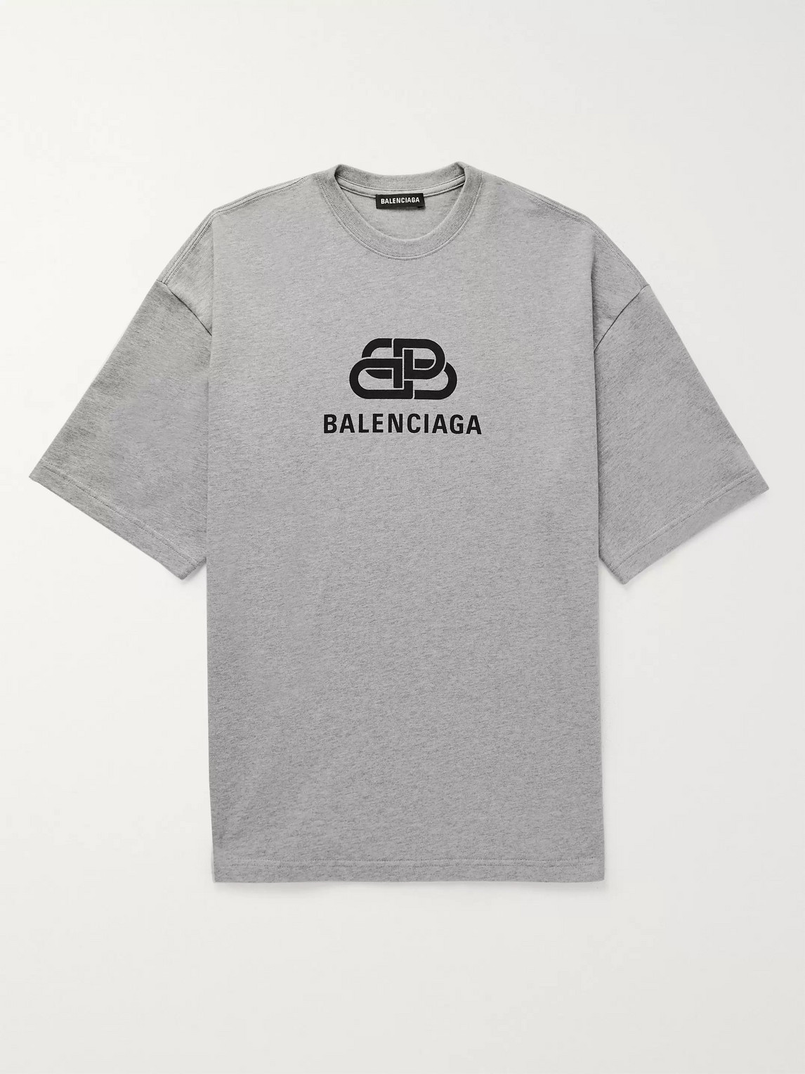 Balenciaga Oversized Logo-print Mélange