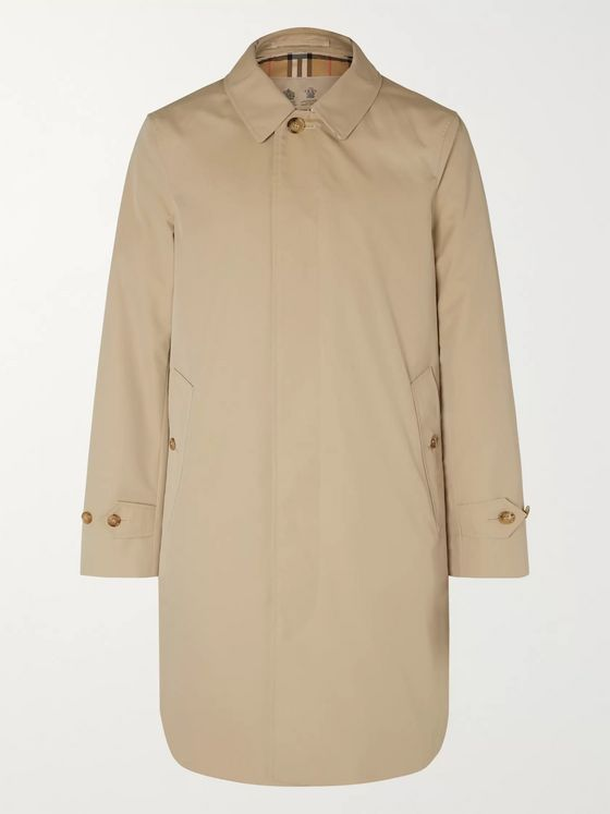 Burberry Cotton-Gabardine Parka