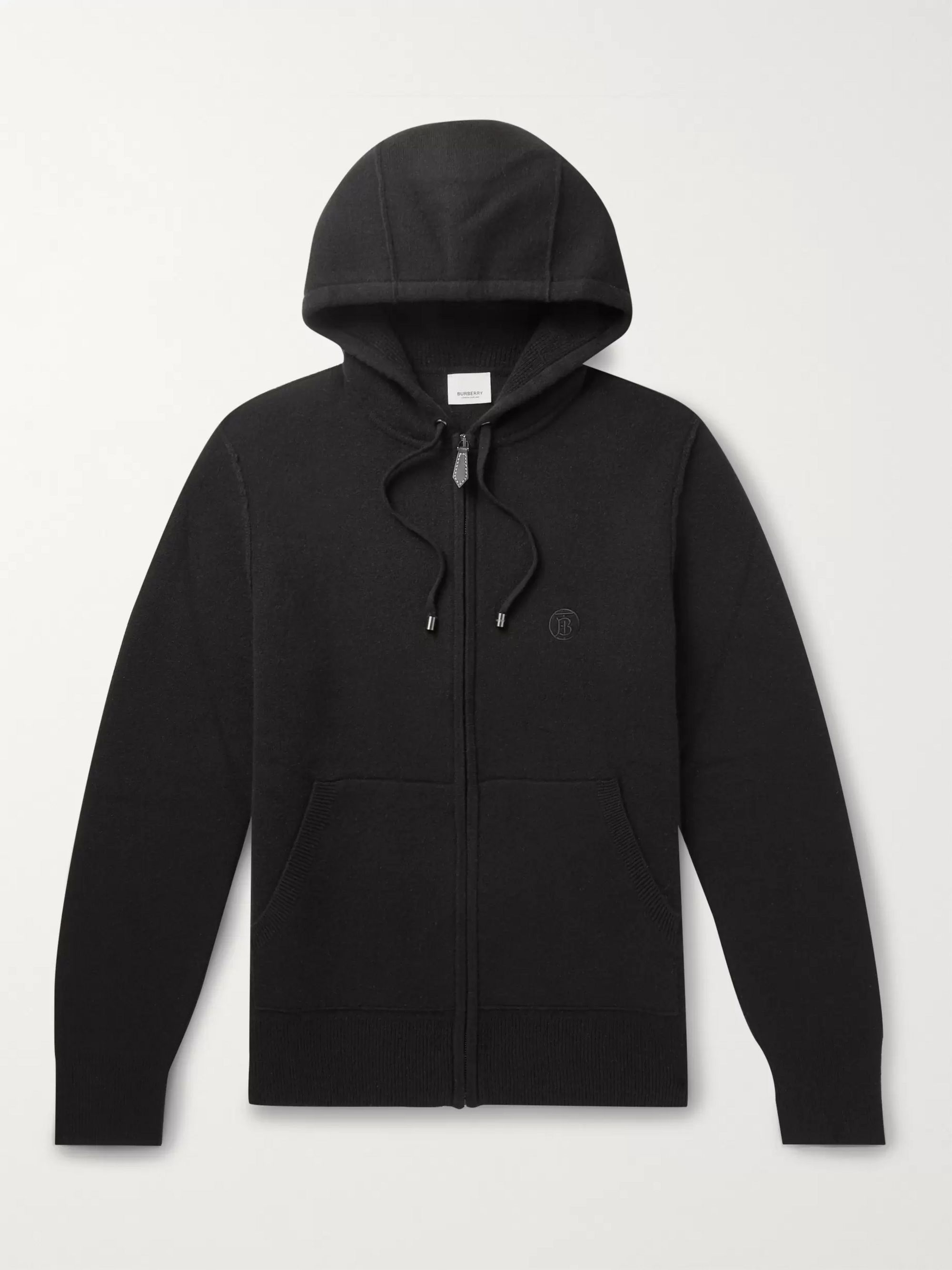Cashmere Blend Zip Up Hoodie by Burberry