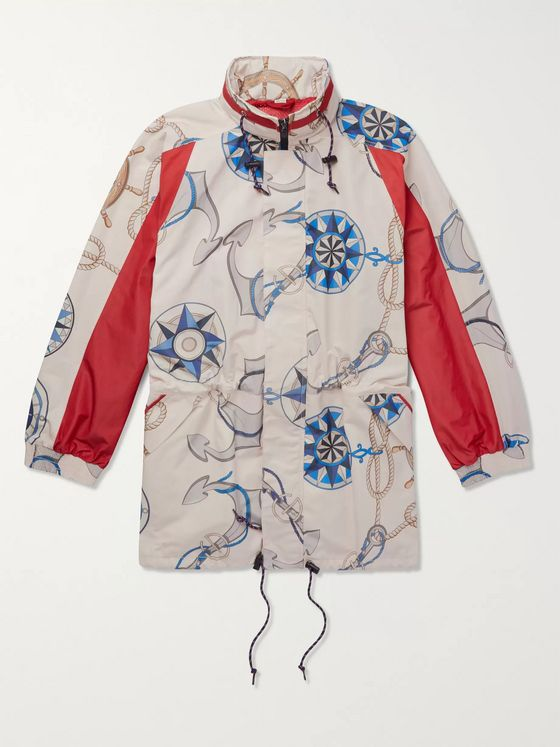 Gucci Printed Shell Jacket