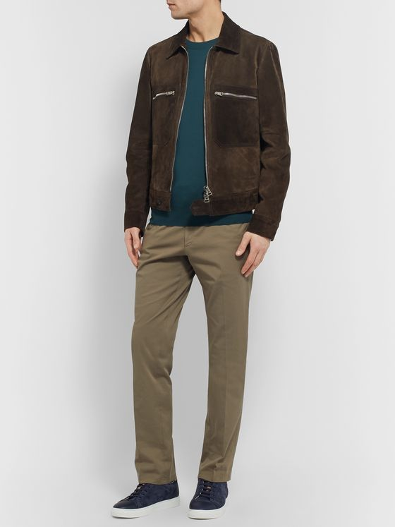 Brioni Slim-Fit Wool Sweater