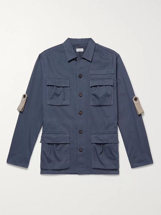 Brioni Cotton Field Jacket