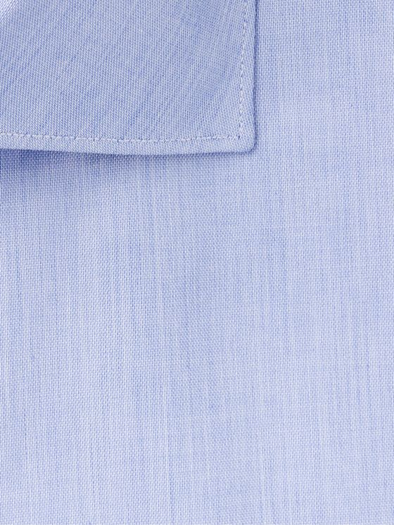 Brioni Blue Cotton-Poplin Shirt