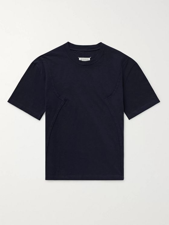 Maison Margiela Patchwork Cotton-Jersey T-Shirt