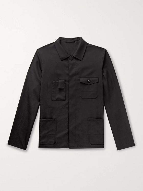 Maison Margiela Virgin Wool Overshirt
