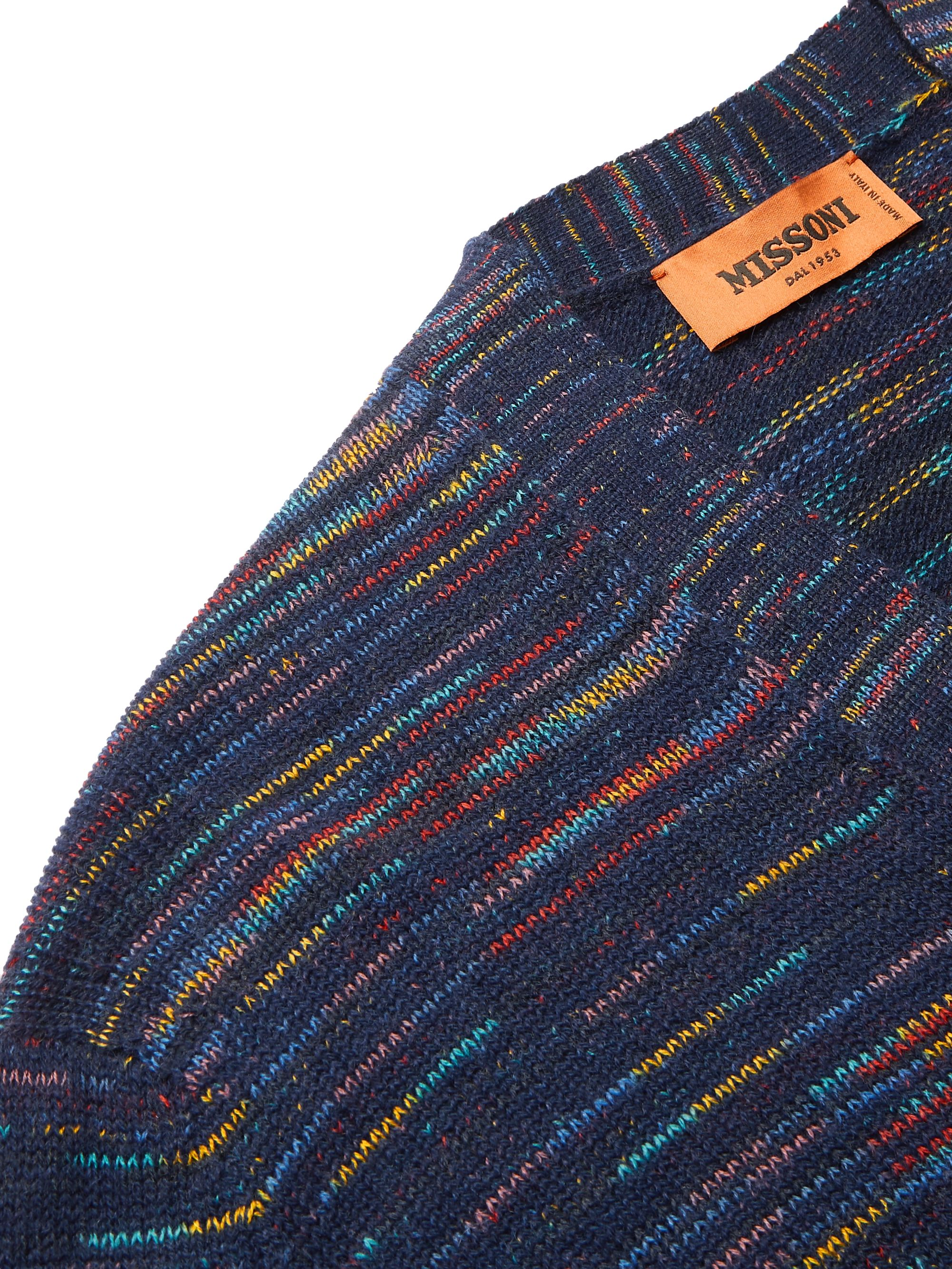 Missoni Space-Dyed Cashmere and Wool-Blend Cardigan