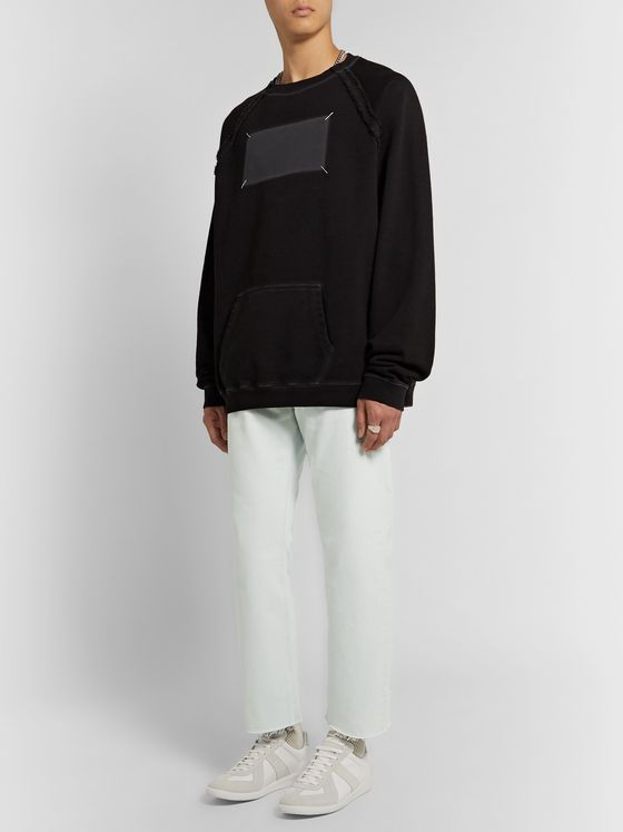 Maison Margiela Distressed Bleached Denim Jeans