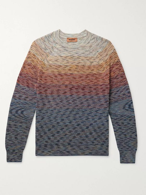 Missoni Space-Dyed Linen-Blend Sweater