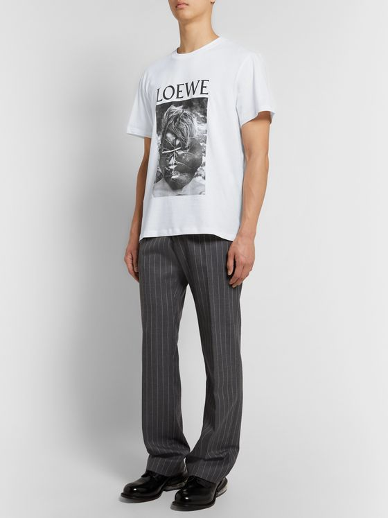 Loewe Lord of the Flies Printed Cotton-Jersey T-Shirt