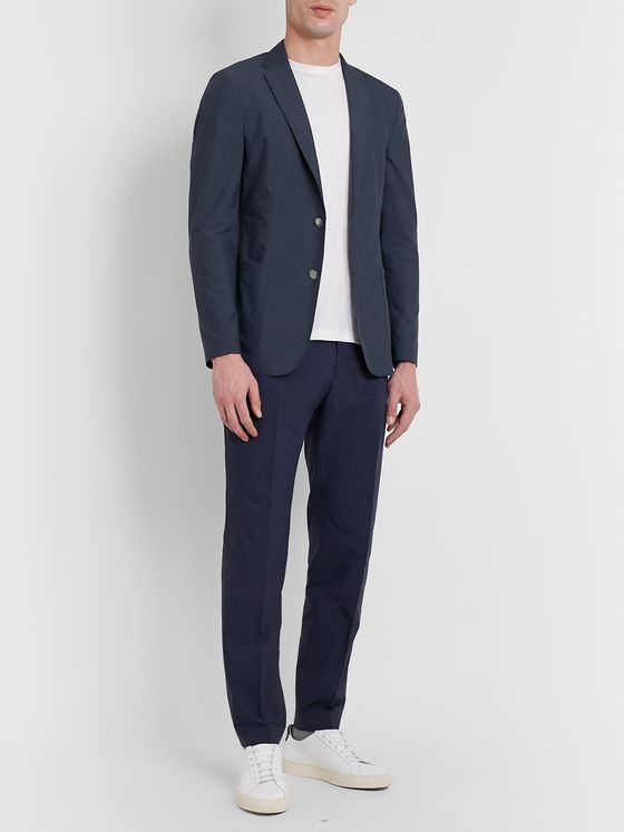 Hugo Boss Slim-Fit Unstructured Cotton-Blend Suit Jacket