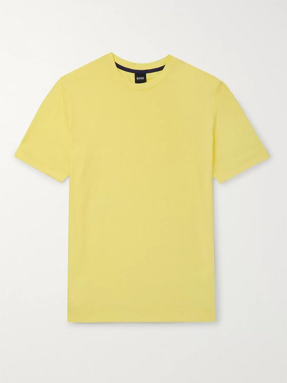 Hugo Boss Slub Cotton-Jersey T-Shirt
