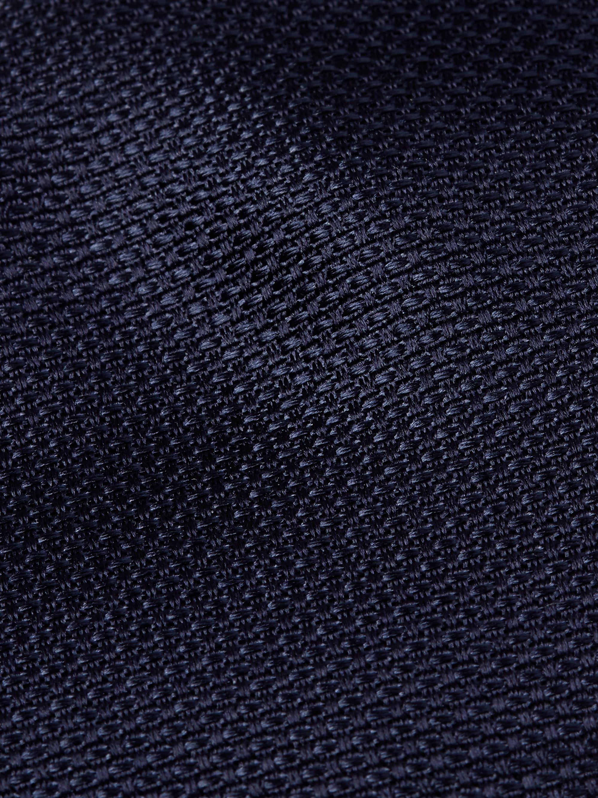 BOSS 7.5cm Tie in Navy Jacquard