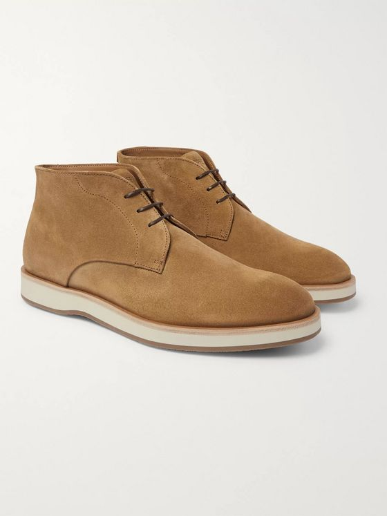Hugo Boss Oracle Suede Desert Boots