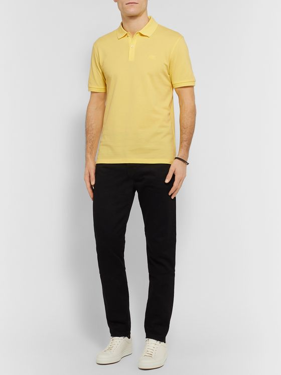 Hugo Boss Pallas Slim-Fit Cotton-Piqué Polo Shirt