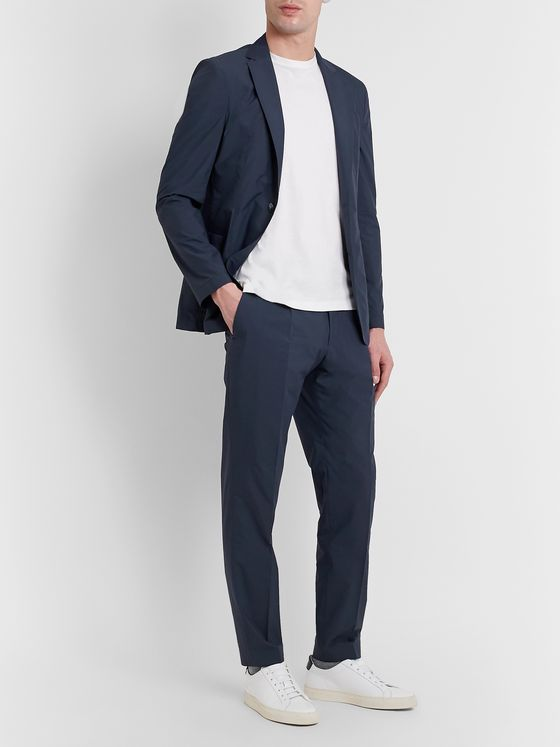 Hugo Boss Bryder Cotton-Blend Suit Trousers