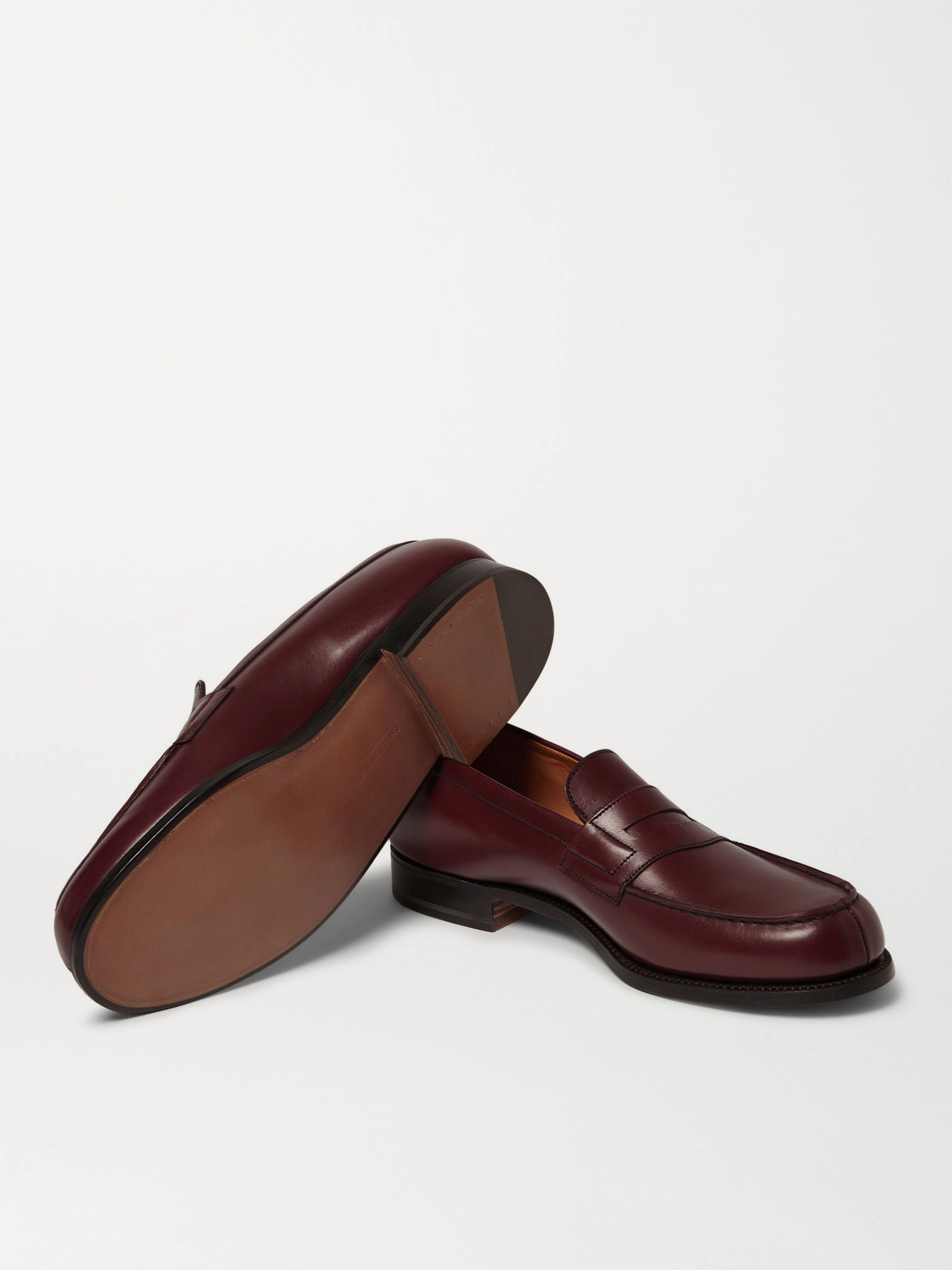 J.M. Weston 180 The Moccasin Leather Loafers