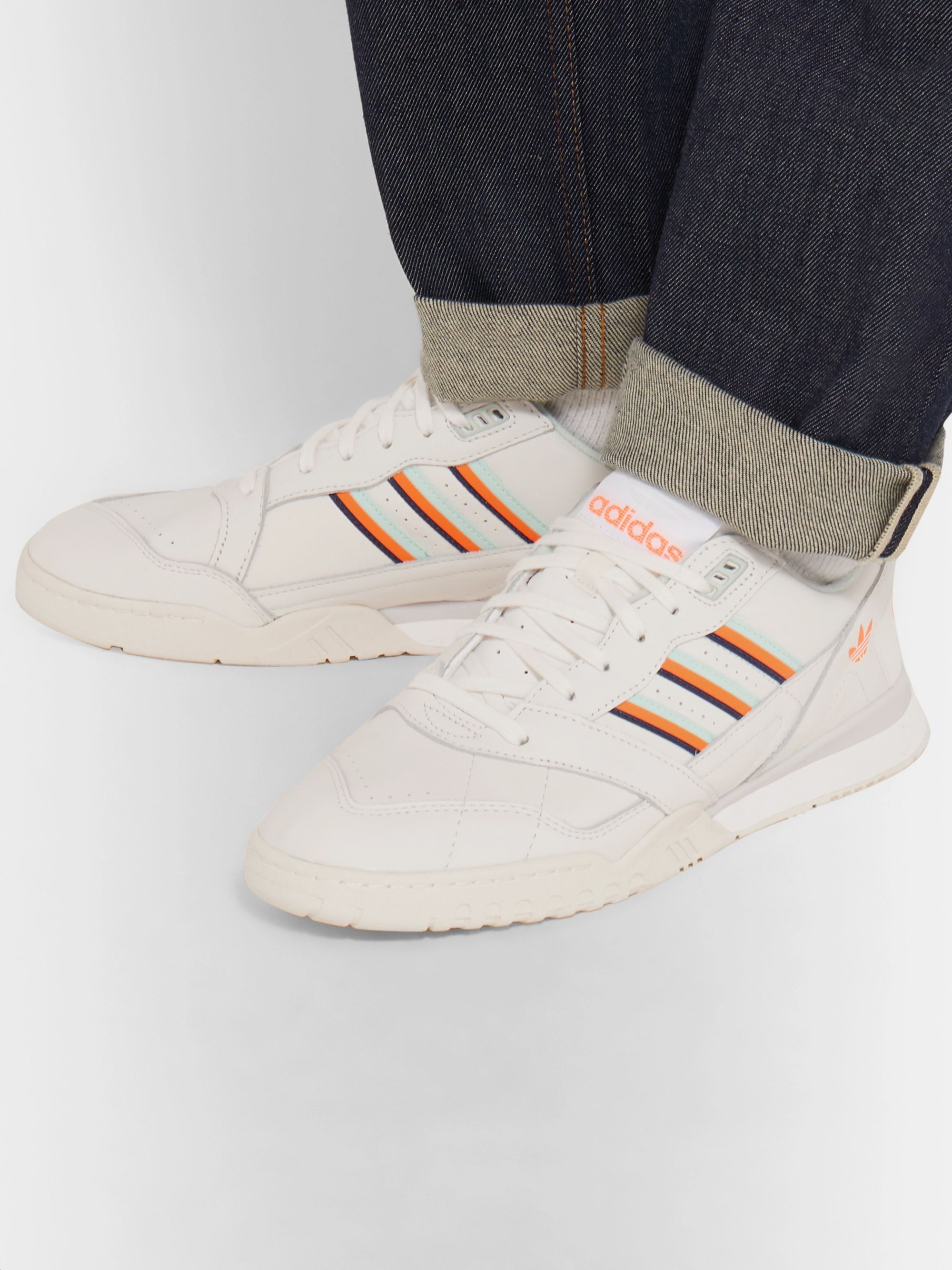 adidas Originals A.R Leather Sneakers