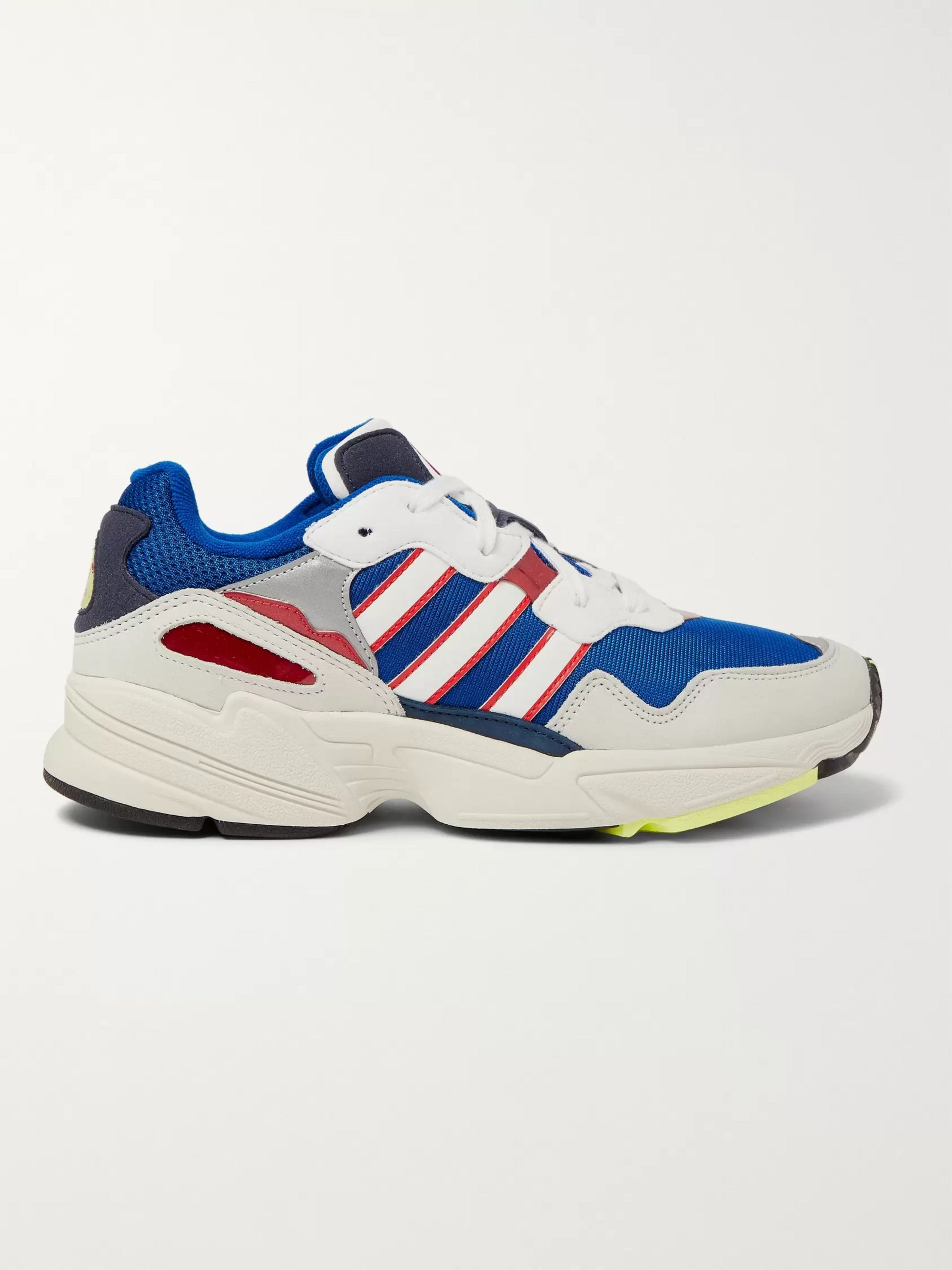 adidas Originals Yung 96 Suede, Leather and Mesh Sneakers