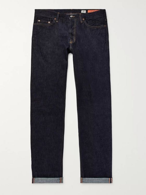 Jean Shop Bowie Slim-Fit Selvedge Denim Jeans