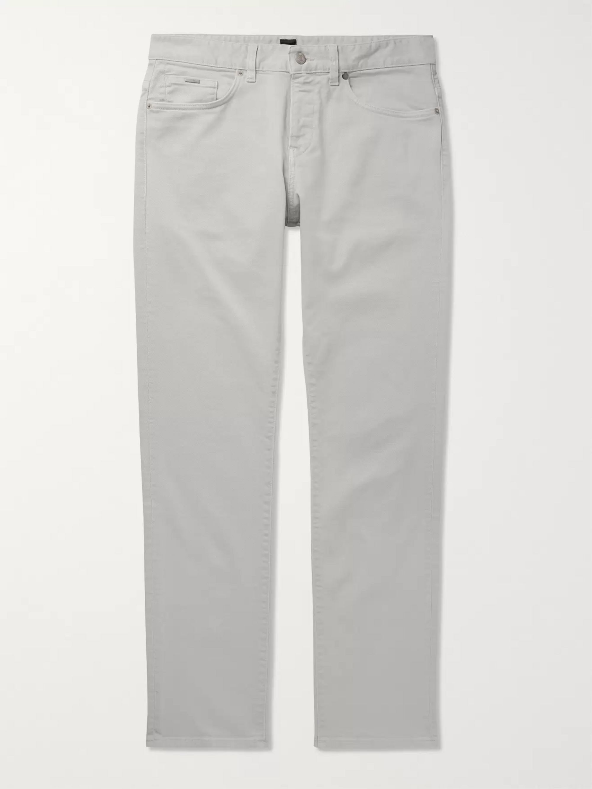 Hugo Boss Delaware Slim-Fit Stretch-Denim Jeans