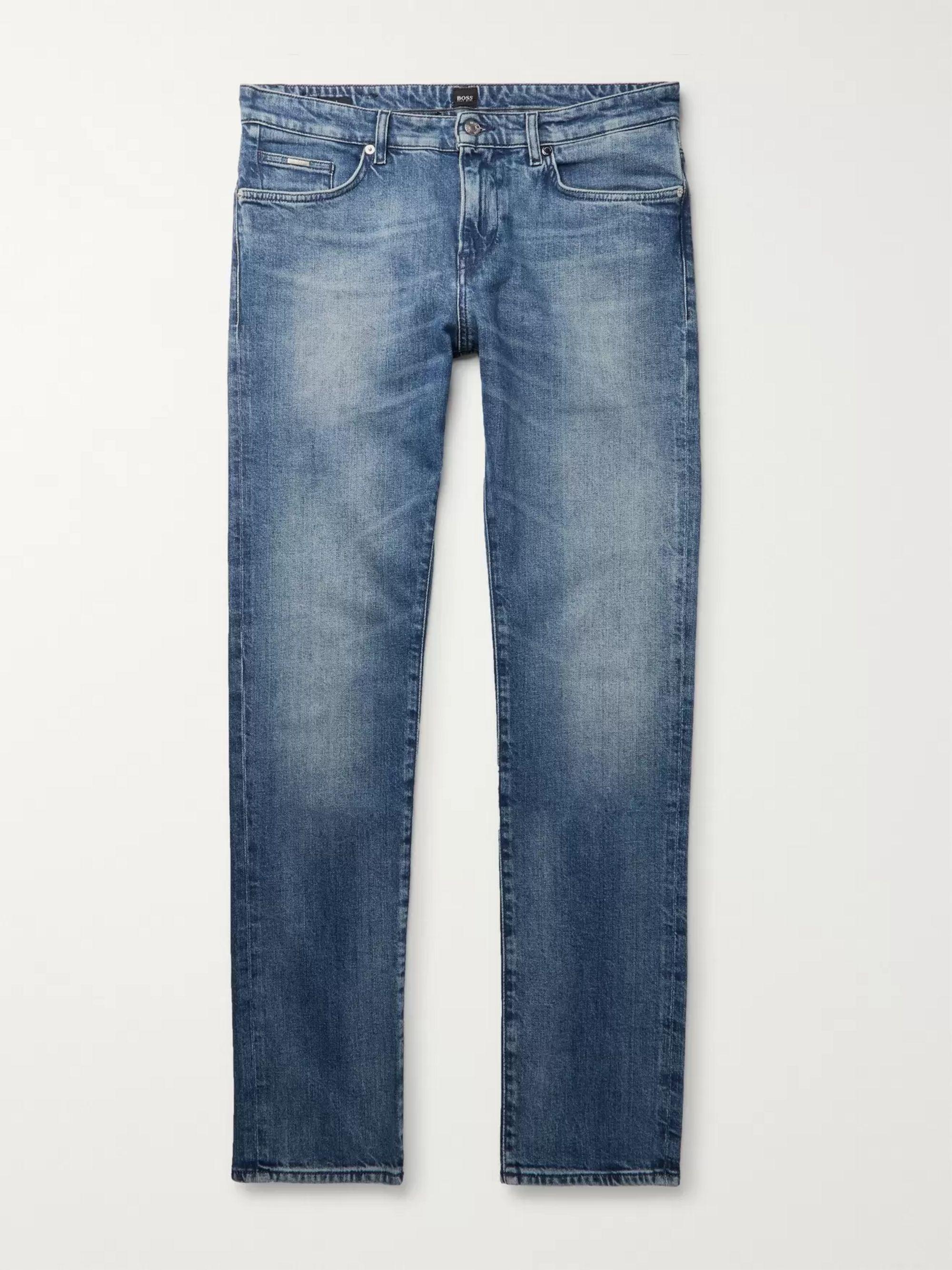 HUGO BOSS Slim-Fit Denim Jeans